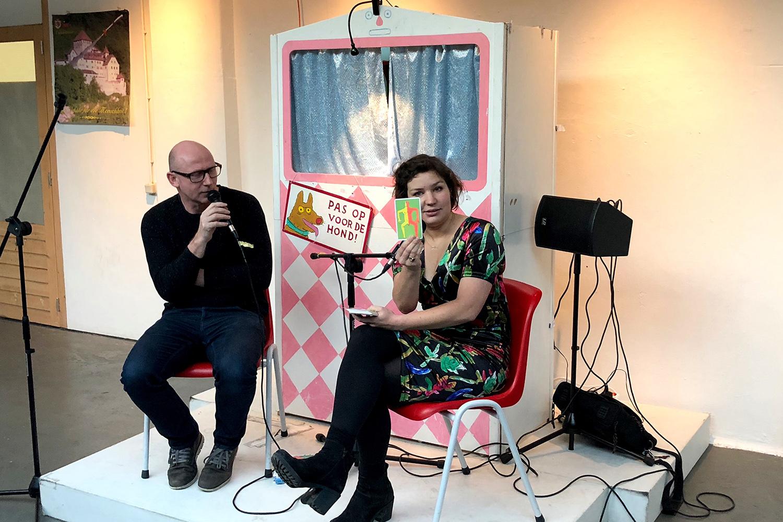 Kenjezelf Kit talk with illustrator Floor Rieder