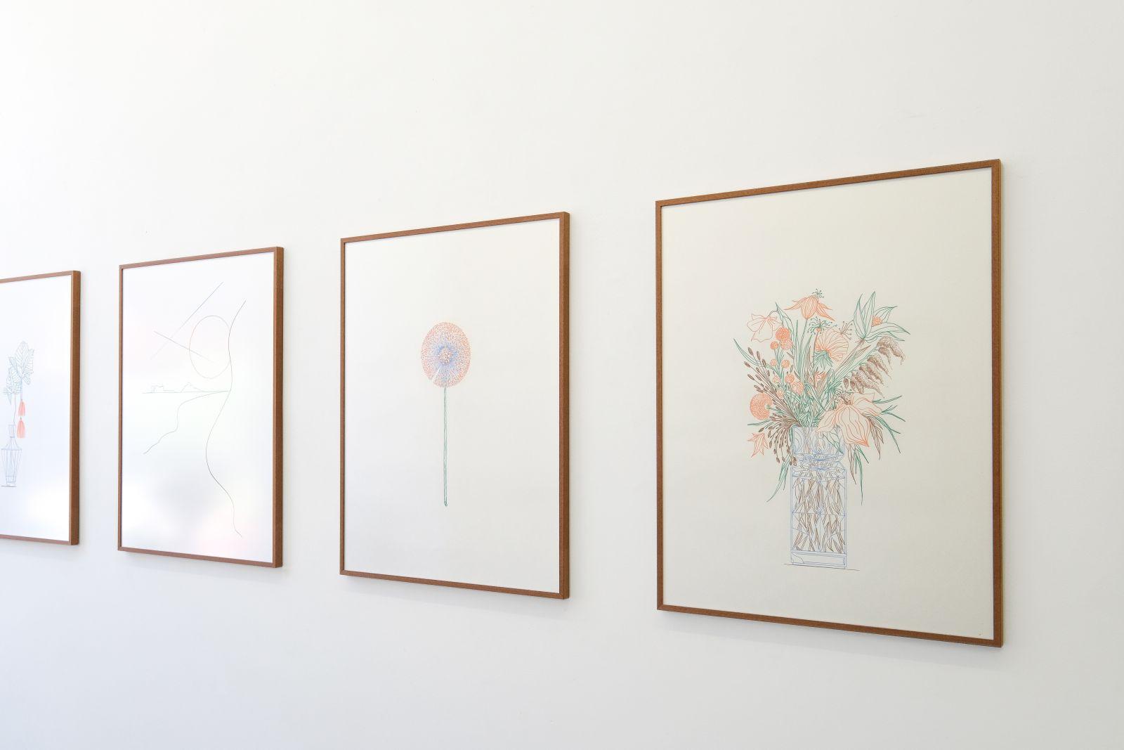 Merijn's work at Mini Galerie
