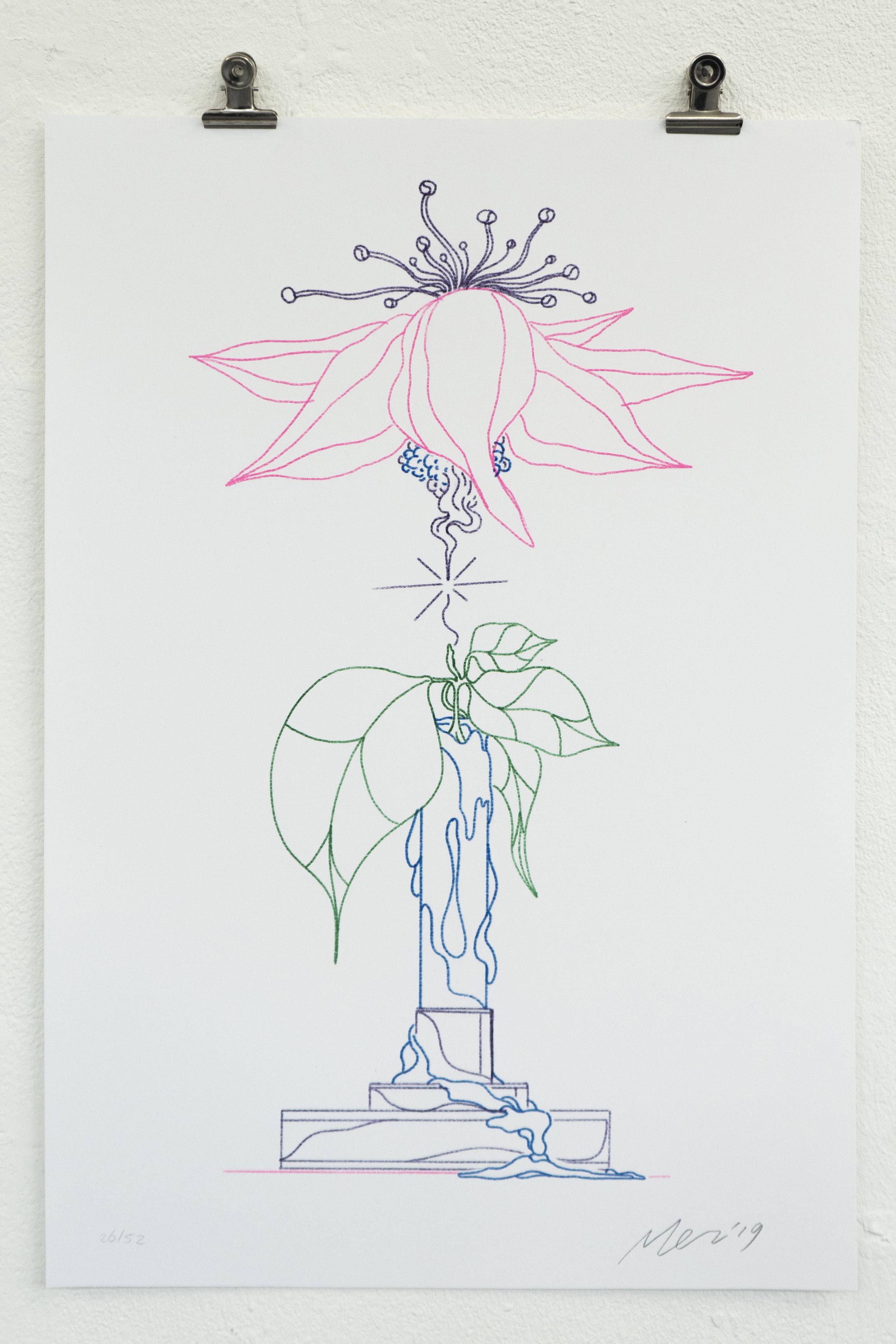 Merijn's poster for Wobby #18 - The Big Blank