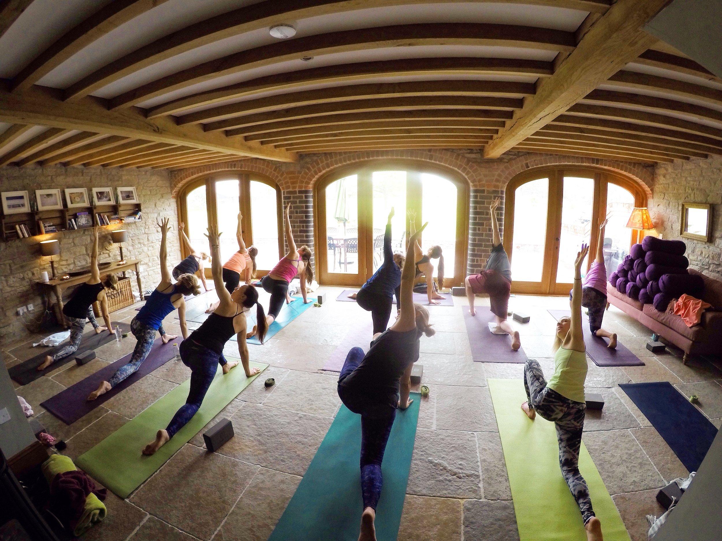Yoga Retreat UK Herefordshire
