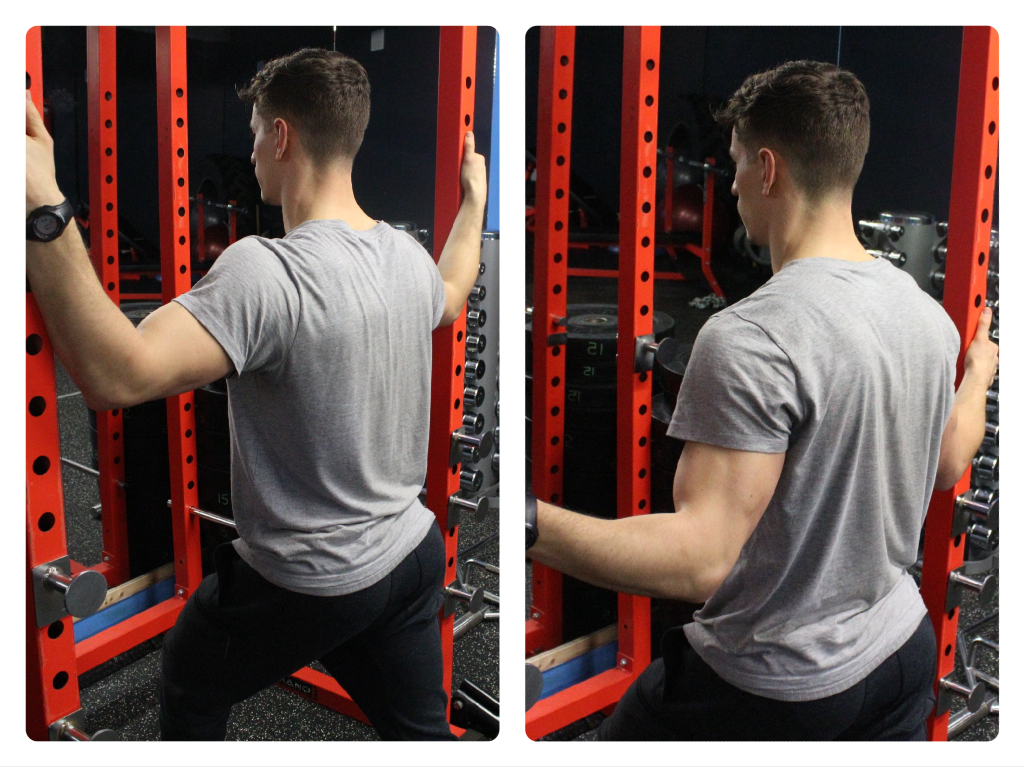 Stretch:  Doorway Chest Stretch  60-90sec/stretch 3 sets/day 7 Days/week