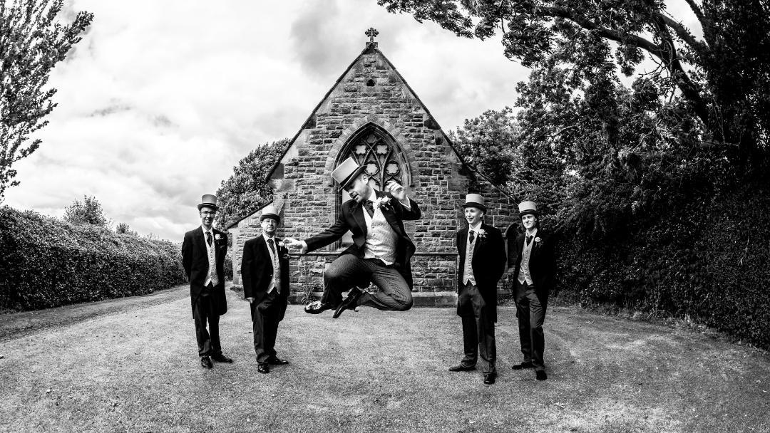 Alex Linfield Wedding Day, Photograph John McCulloch, studio900.co.uk