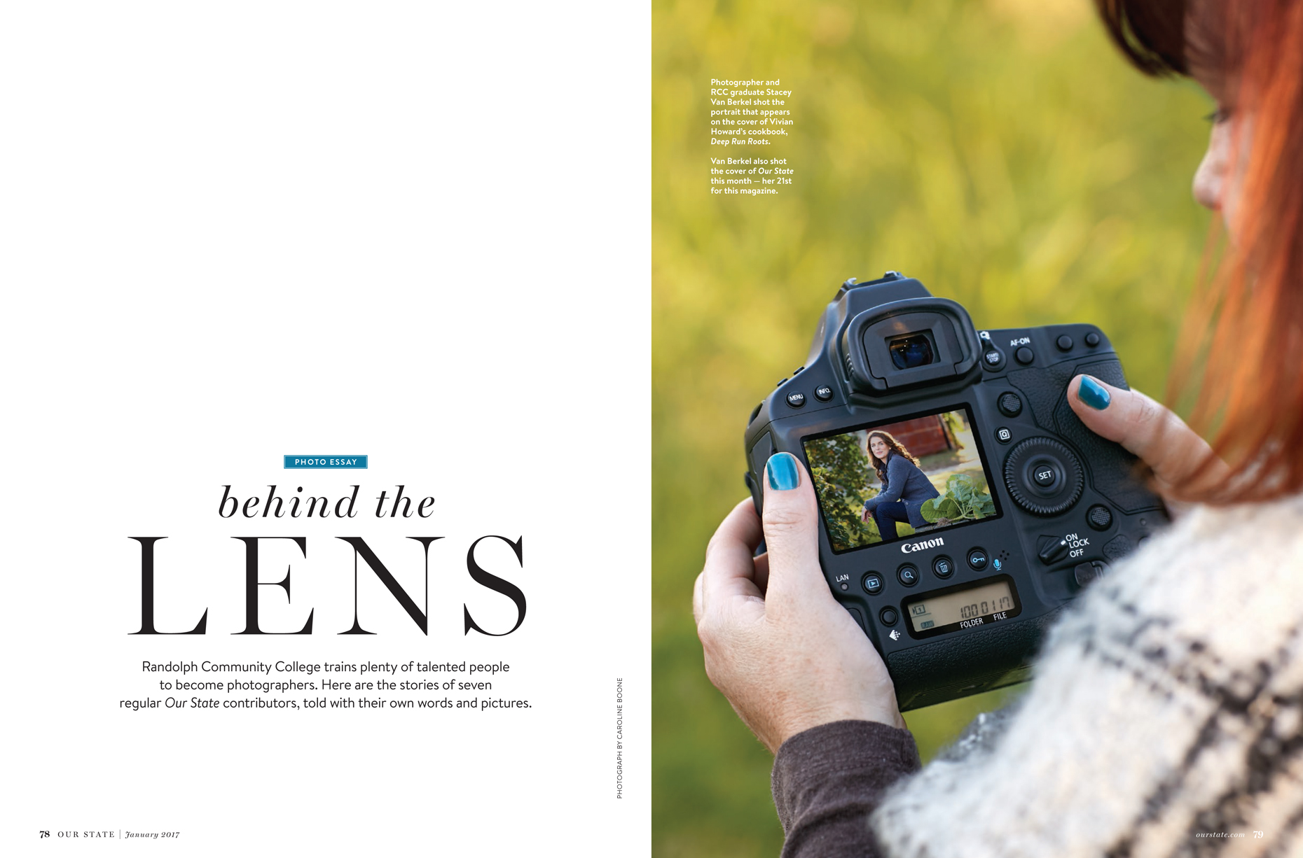 our state behind the lens