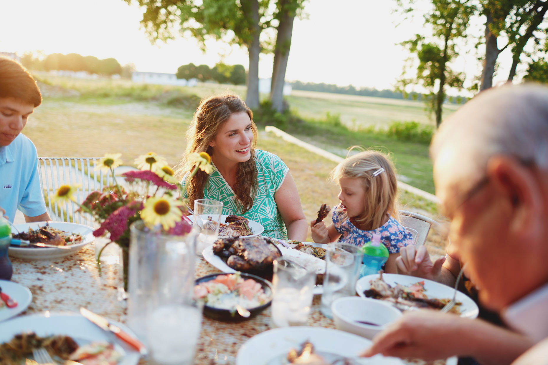 vivian howard family