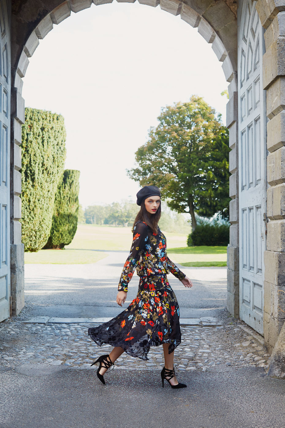 Stacey Van Berkel Photography I Carton House Travel Fashion Shoot I Elegant & French inspired style I Kildare, Ireland