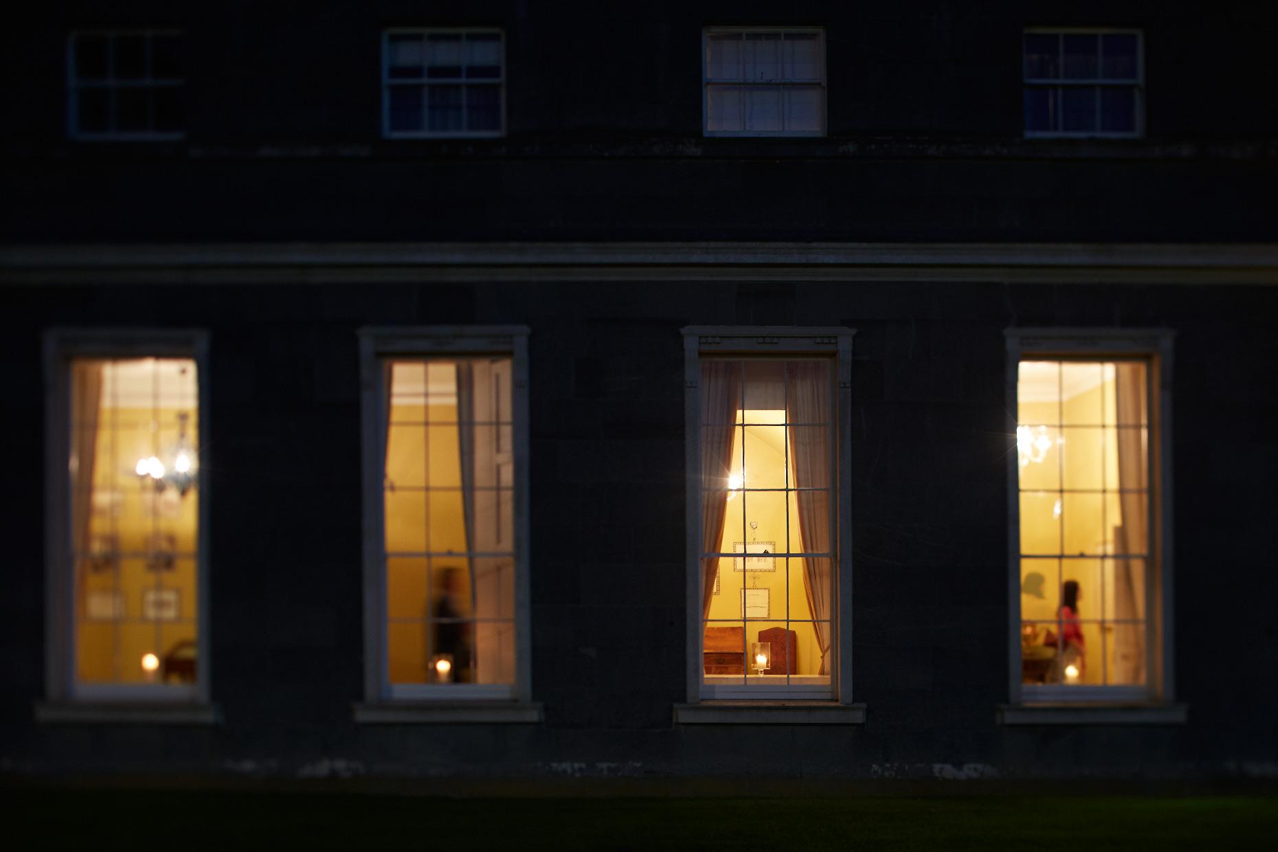 Stacey Van Berkel Photography I  Carton House at night I Kildare, Ireland