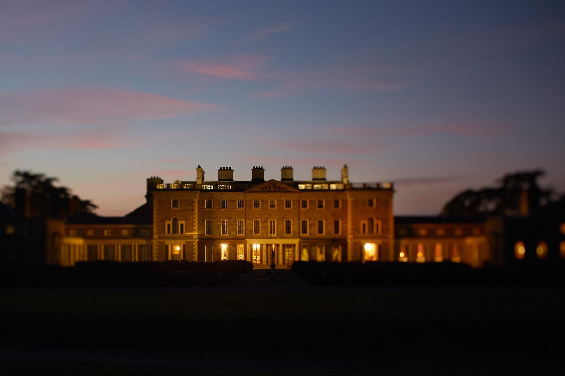 Stacey Van Berkel Photography I Carton House at twilight I Kildare, Ireland