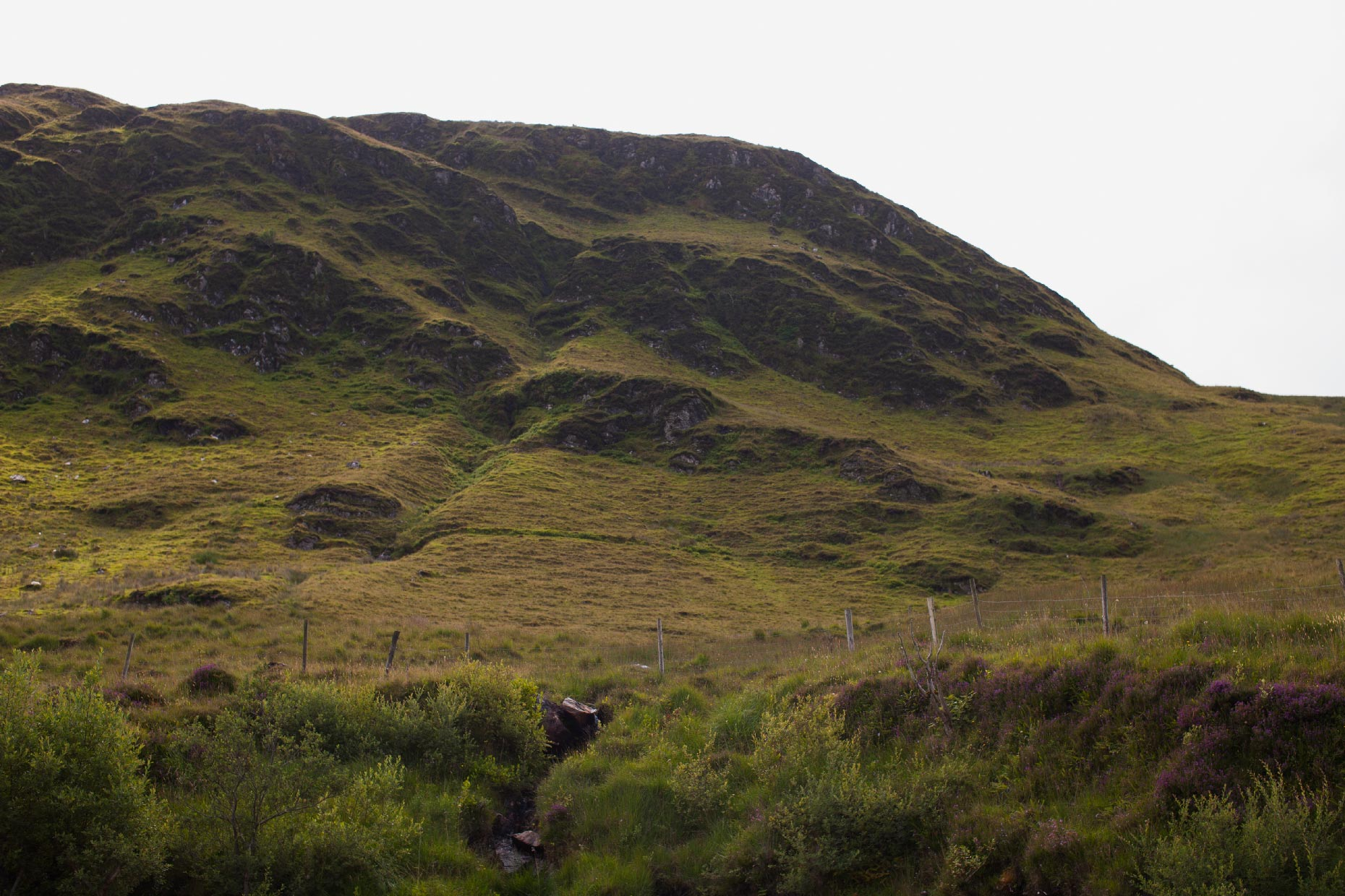 Stacey Van Berkel Photography I Green hills I Donegal, Ireland