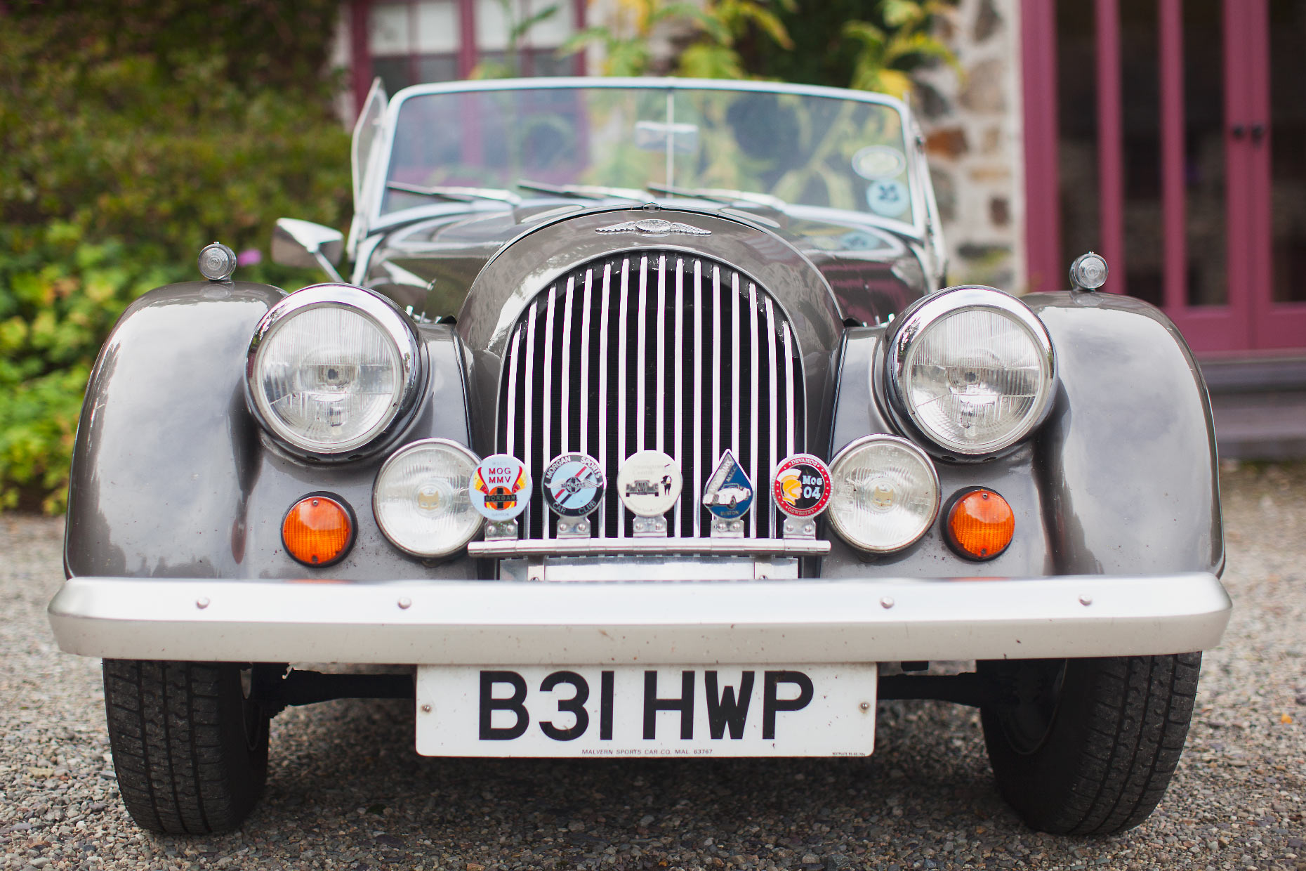 Stacey Van Berkel Photography I Bespoke British Car I Plas Cadnant, Anglesey, Wales