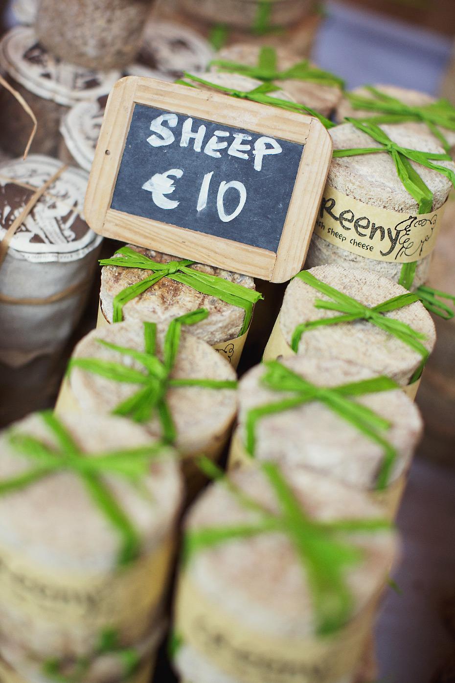Stacey Van Berkel Photography I Creeny Sheep Cheese from Corleggy Cheeses I Dublin Farmer's Market I Dublin Ireland