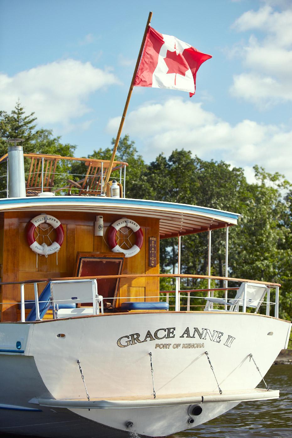 Stacey Van Berkel Photography I Grace Anne II Luxury 1930's Yacht I Lake of the Woods I Kenora, Ontario