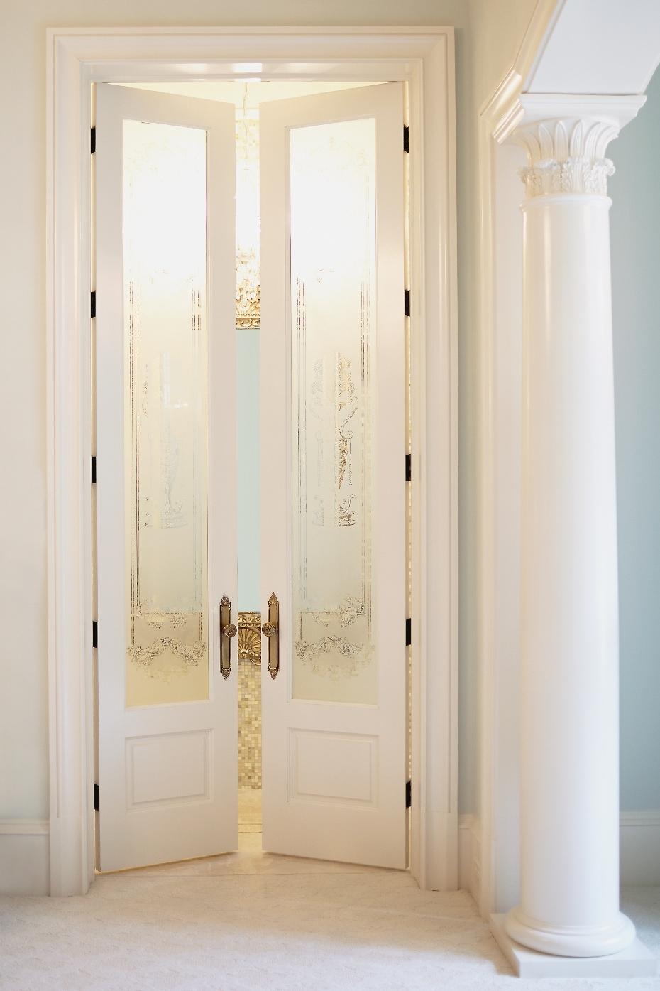 Stacey Van Berkel Photography I Tall elegant doors I Parisian apartment I Bernhardt Furniture
