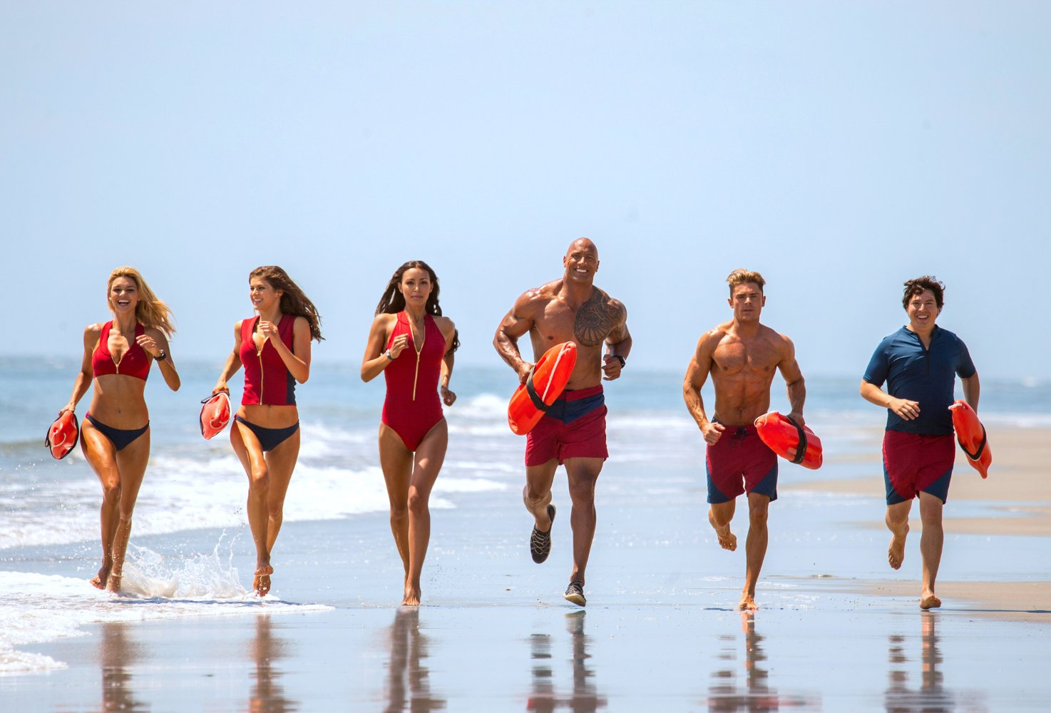 Baywatch - same, same but very different! Source: IMDB