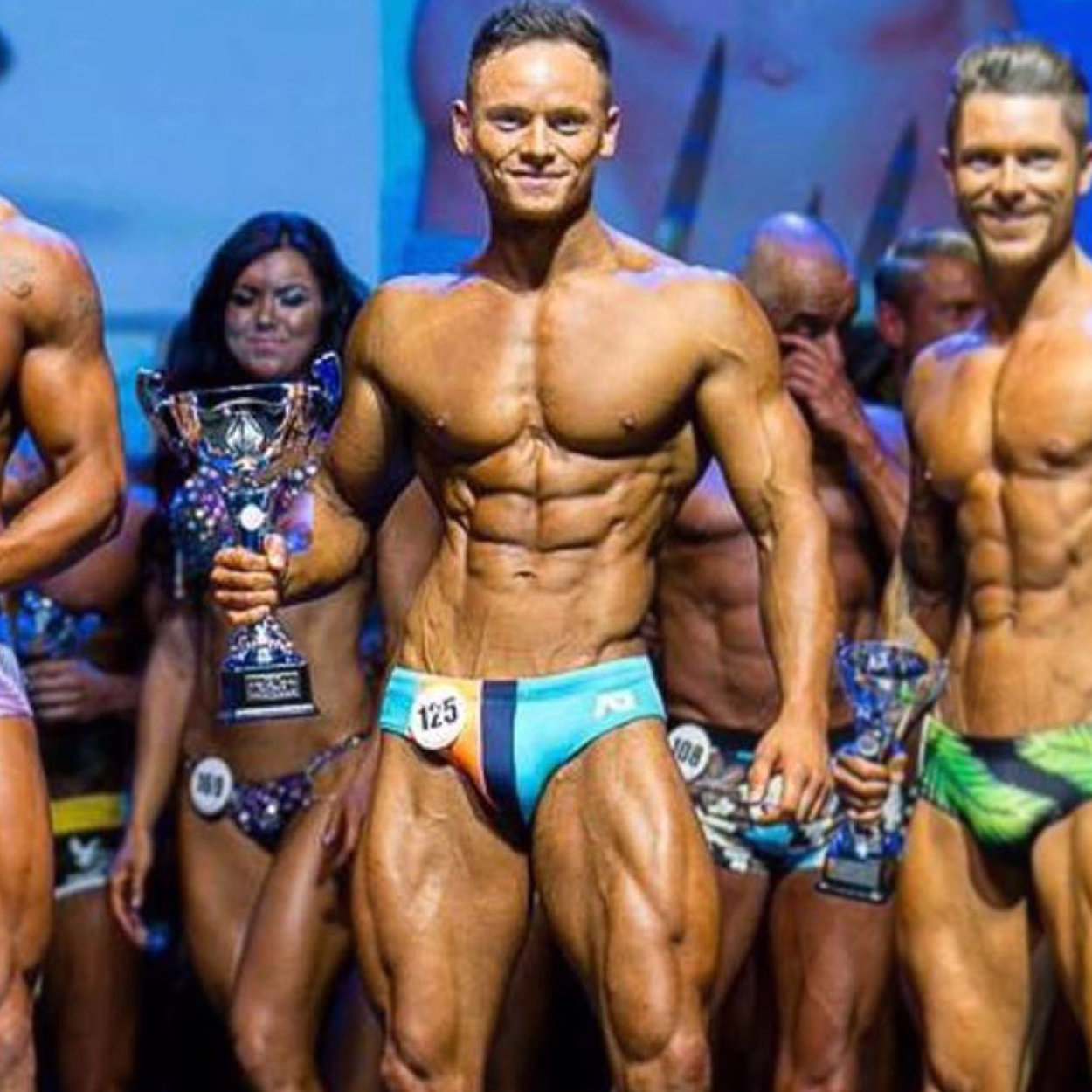 """ALEX DUFFY   """"What a year it's been! Placed 1st at Miami Pro, 2nd at Pure Elite Comp in April then placing 2nd at Pure Elite Comp Worlds at the O2 Pro category and Top 10 at WBFF this week.  I couldn't have achieved all of this without my incredible coach Adam James Parr. He's been so supportive throughout the year and believed in me when I didn't believe in myself, I can safely say Adam knows his stuff!!! Adam is so down to earth and I honestly believe he has mine and every other athlete he coaches best interest at heart."""""""