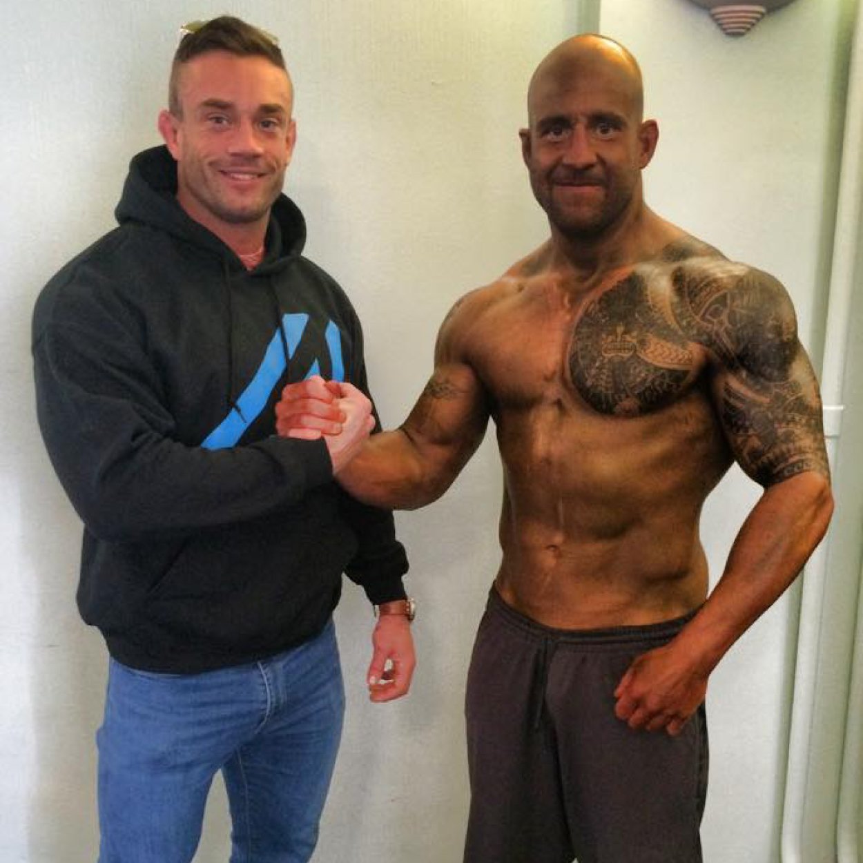 """BROOK DAVIES   """"When I decided to make the transition from Rugby to Bodybuilding all I wanted was perfection and to be the absolute best I can be. I chose to work with Adam because his knowledge and passion shines through in everything that he does. He not only looks after my training and nutrition but he shares the journey with me, constantly keeps in touch asking how I am, progress updates, weekly training sessions and has become a life long friend. Adam practices what he preaches, he's been there and done it all."""""""