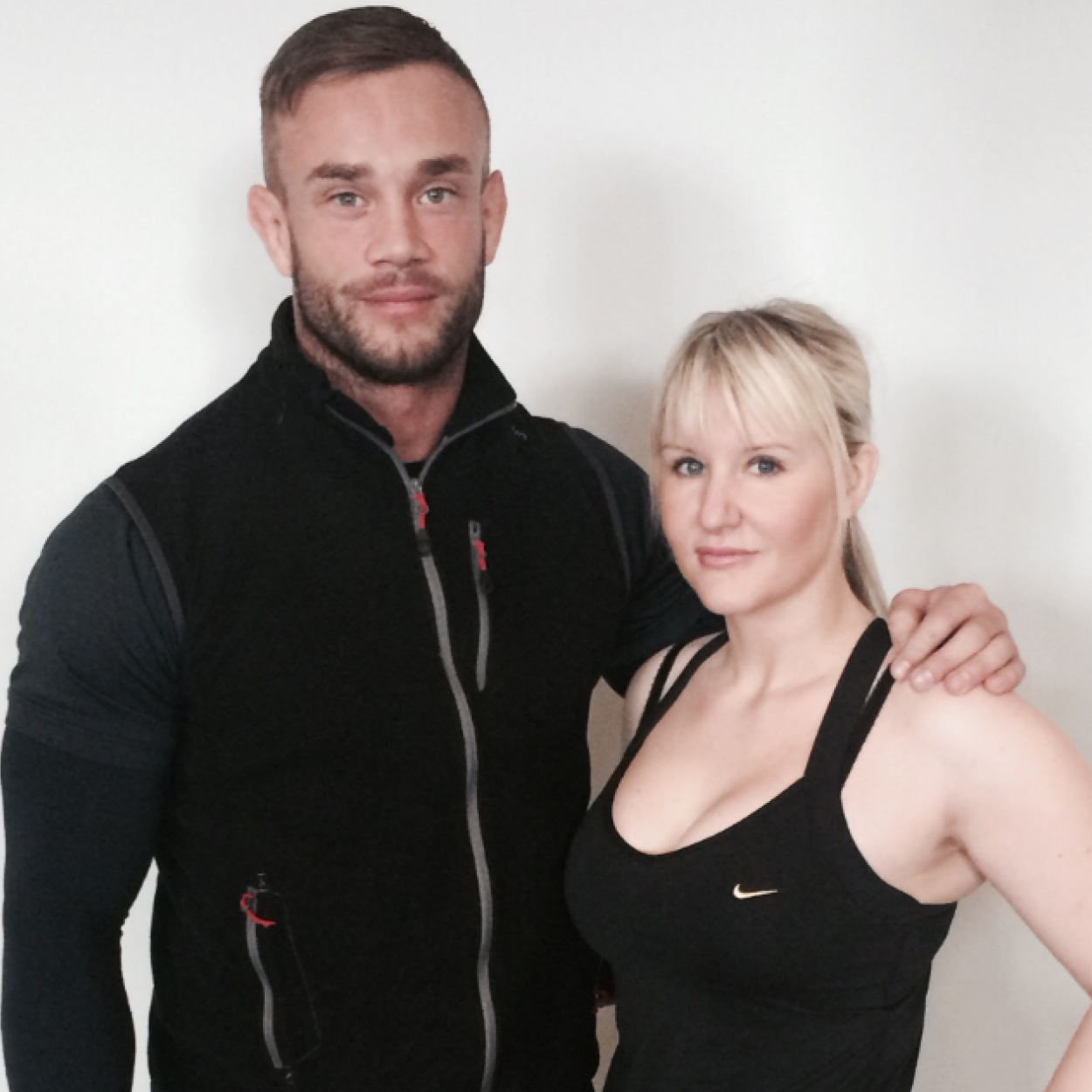 """GEMMA BARNFIELD   """"I have had the privilege of having Adam as my personal trainer for a number of years now. Looking to find a PT I found myself stood in front of the PT stand at fitness first, there were many available but what drew me to Adam was his academic qualifications to back up his experience and I am so glad I made that choice. Adam's ability to link theory with practice is second to none and knows how to push to you to your limits whilst still managing to make the pain enjoyable! On top of that he is a really nice guy, is always happy to provide advice and encouragement and is always available at the end of the phone. I can't believe the positive changes and improvements I have made and I owe it all to Adam."""""""