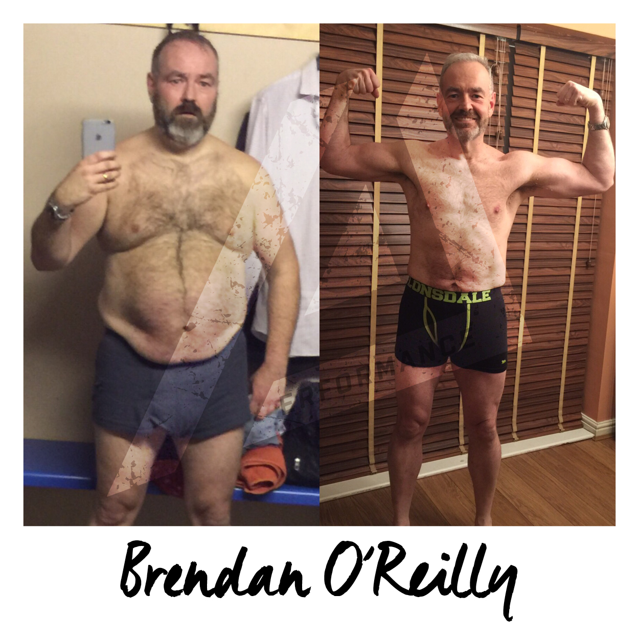 Brendan and I have been working together since January 2015 and his story & transformation is incredible. I hope someone, somewhere reads this and is motivated by Brendan's journey and it triggers them to start their own...