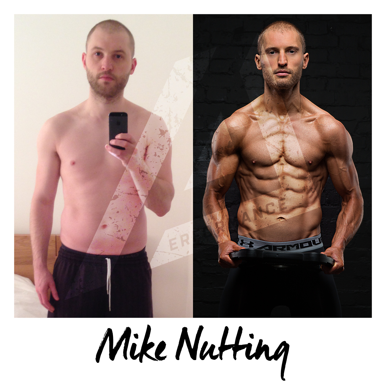 Mike tells his story of how he fell into loving fitness and overcame the initial fear he had of entering the gym in the first place, which I think many people reading will be able to relate to. Here is his story...