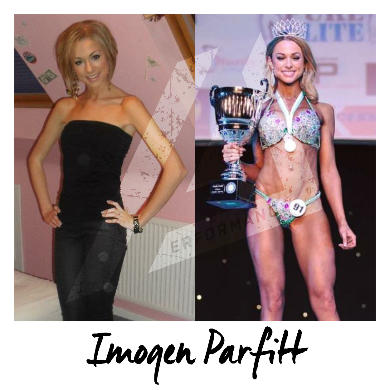 I have coached Imogen for over 2 years online, helping her compete in 3 different competitions and being crowned Pure Elite overall Champion. Here is an insight into her background, her motivation and what she finds most difficult about training...