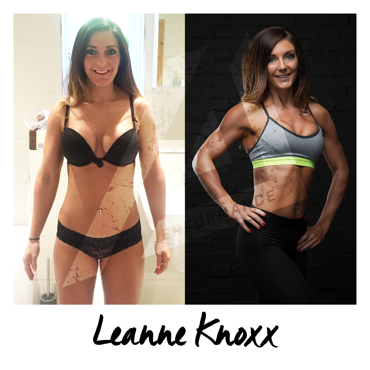 Leanne tells her story of her experience taking part in the 12-Week Photoshoot Challenge. Leanne is experienced in the gym and has been training for years, but just wanted that extra guidance to push past her sticking point and to try and shift some body fat from stubborn body parts (legs). Leanne did amazing, dropping from 150-134lbs in 12 weeks, getting the leanest she ever has.