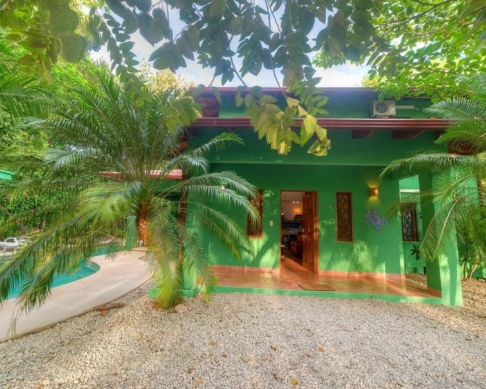 Private Pool Fully Equipped Kitchen Air Conditioning Television Wireless Internet Walking Distance to Playa Guiones  CLICK FOR MORE DETAILS