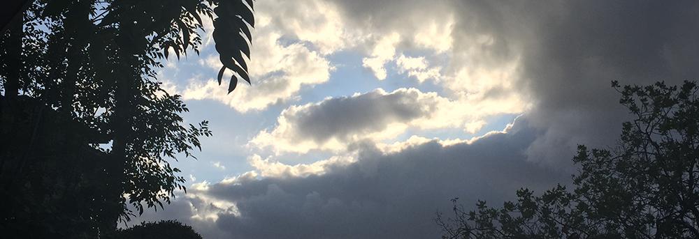 Jerome, Arizona sky.