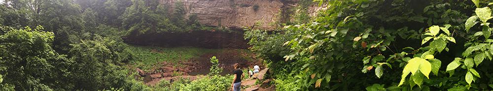 Falls Creek Falls State Park, Tennessee.