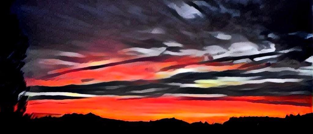 Sunset rendering
