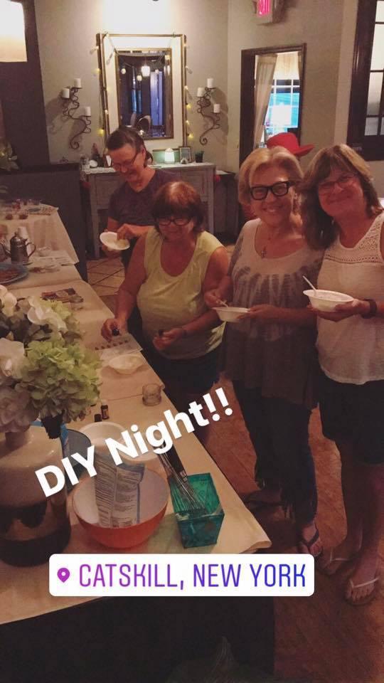 DIY Essential Oils Night with the ladies!