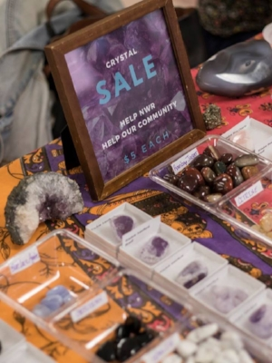 Help NWR Help Our Community by buying beautiful crystals.