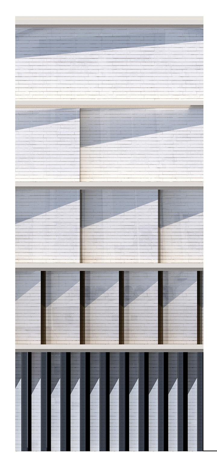 Side facade test