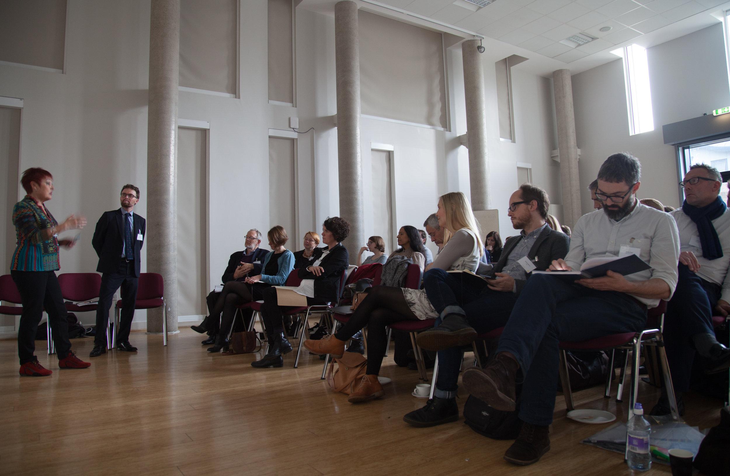 #hackney2026 . Delegates listen to a presentation by  Rita Wapperom  from  Rotterdam.