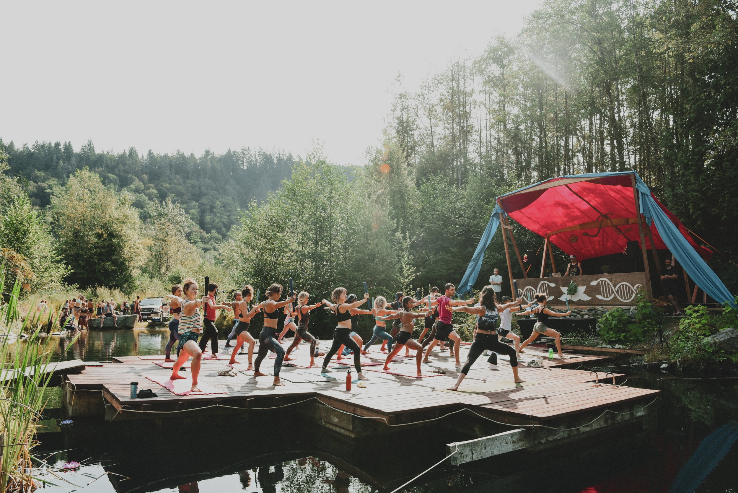"""""""Our highest purpose is celebration of creativity, human connection, expression of Flow while honoring our precious natural resources in the Pacific Northwest. """" - — Flow State Campout Team"""