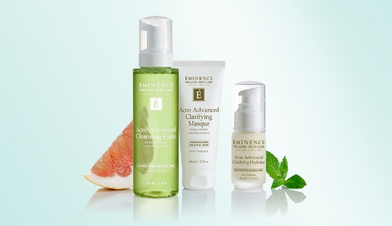 NEW ADVANCED ACNE LINE BY Eminence Organics