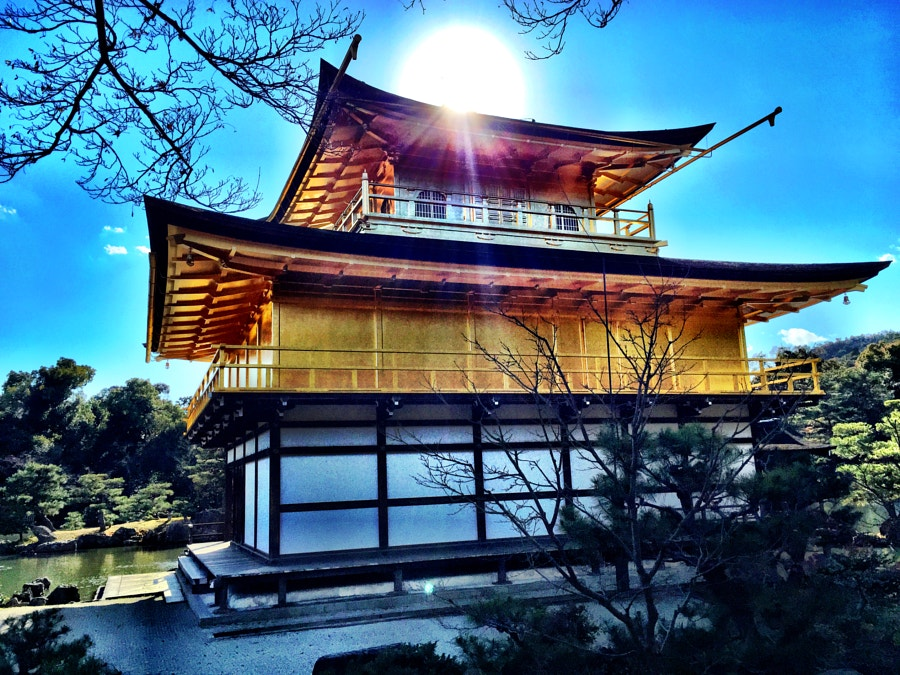 Japan 2014 - Kyoto - Golden Palace