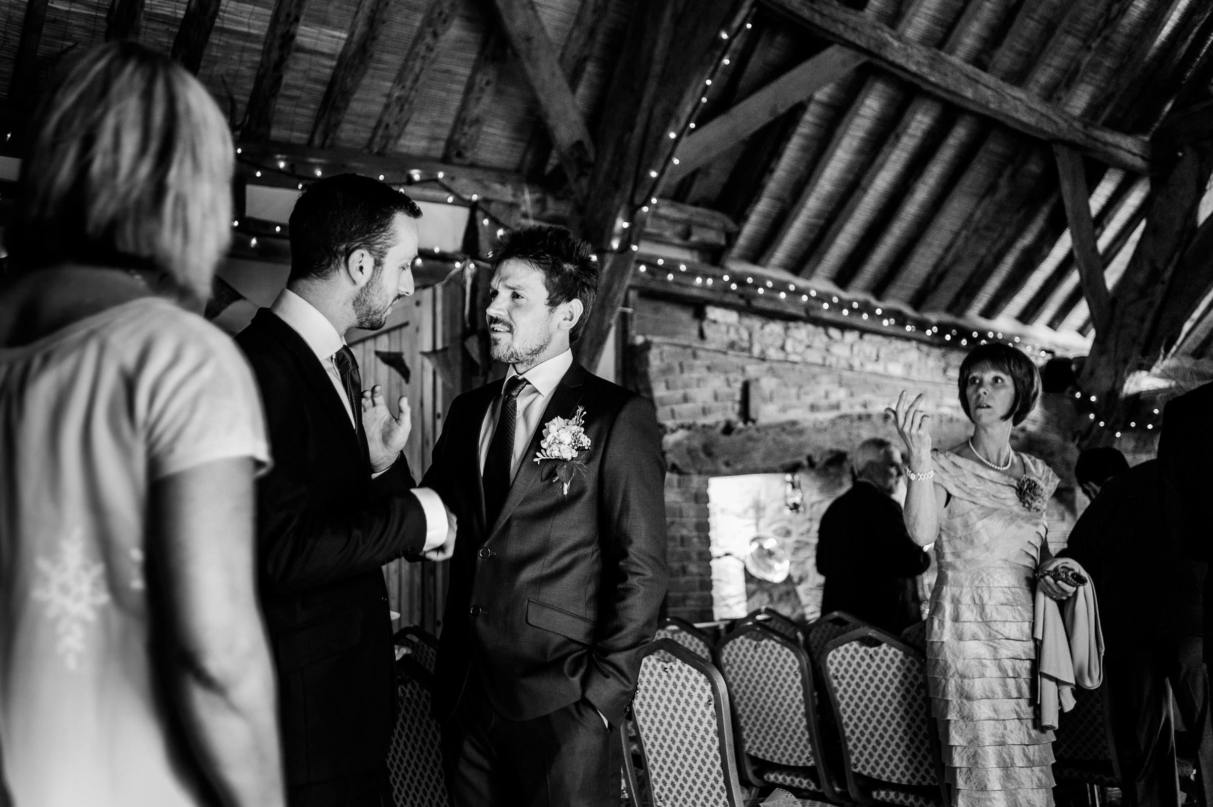 Notley Tythe Barn Reportage Wedding Photos 009.jpg