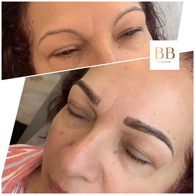 We love a great transformation!!! ❤️❤️ Brows by @shanianngg
