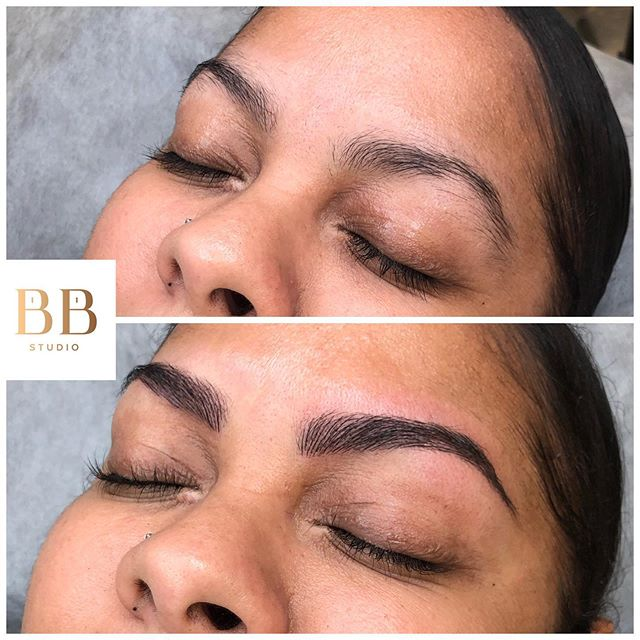 Bottom line, JUST DO IT ✔️ 🤣 So much fun with this beauty, finally treating herself! Life is busy, so let's help you #wakeupandgo . . . #freshbrowfriday #wakeupandgobrows #microbladingboston #bostonmicroblading #boston #brow #studio #bostonbrowstudio #makeup #mua #friday #work #happy #beauty #love #live #life #lifestyle #blogger #travel