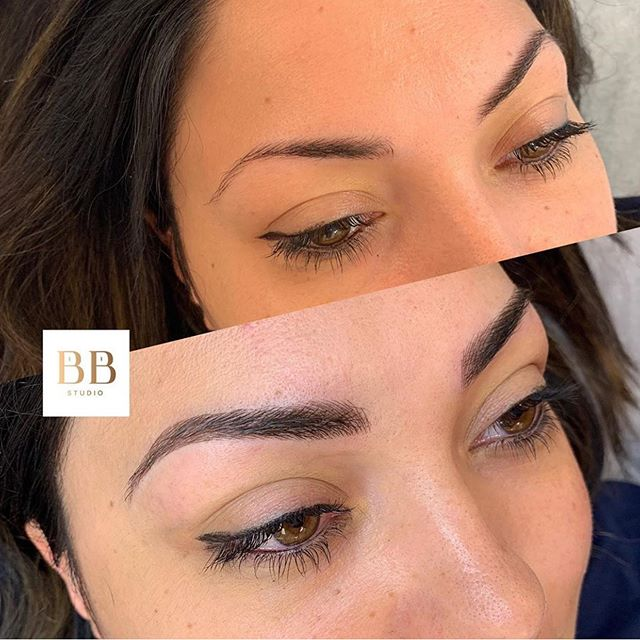Rising and shining everyday 💫 Brows by @shanianngg  Link in bio to book 💋
