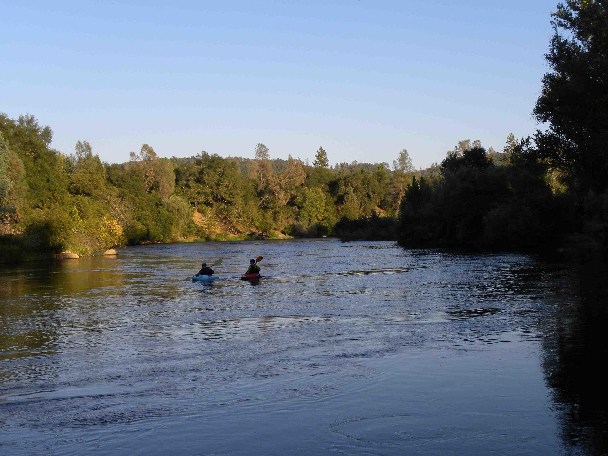 Kayakers @ Dusk @ Camp Lotus.jpg