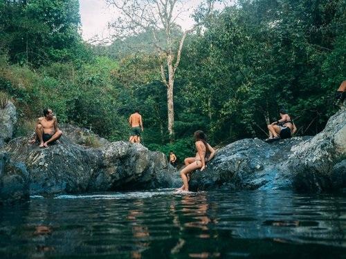 Piscine de Ramon: Rio Iguana