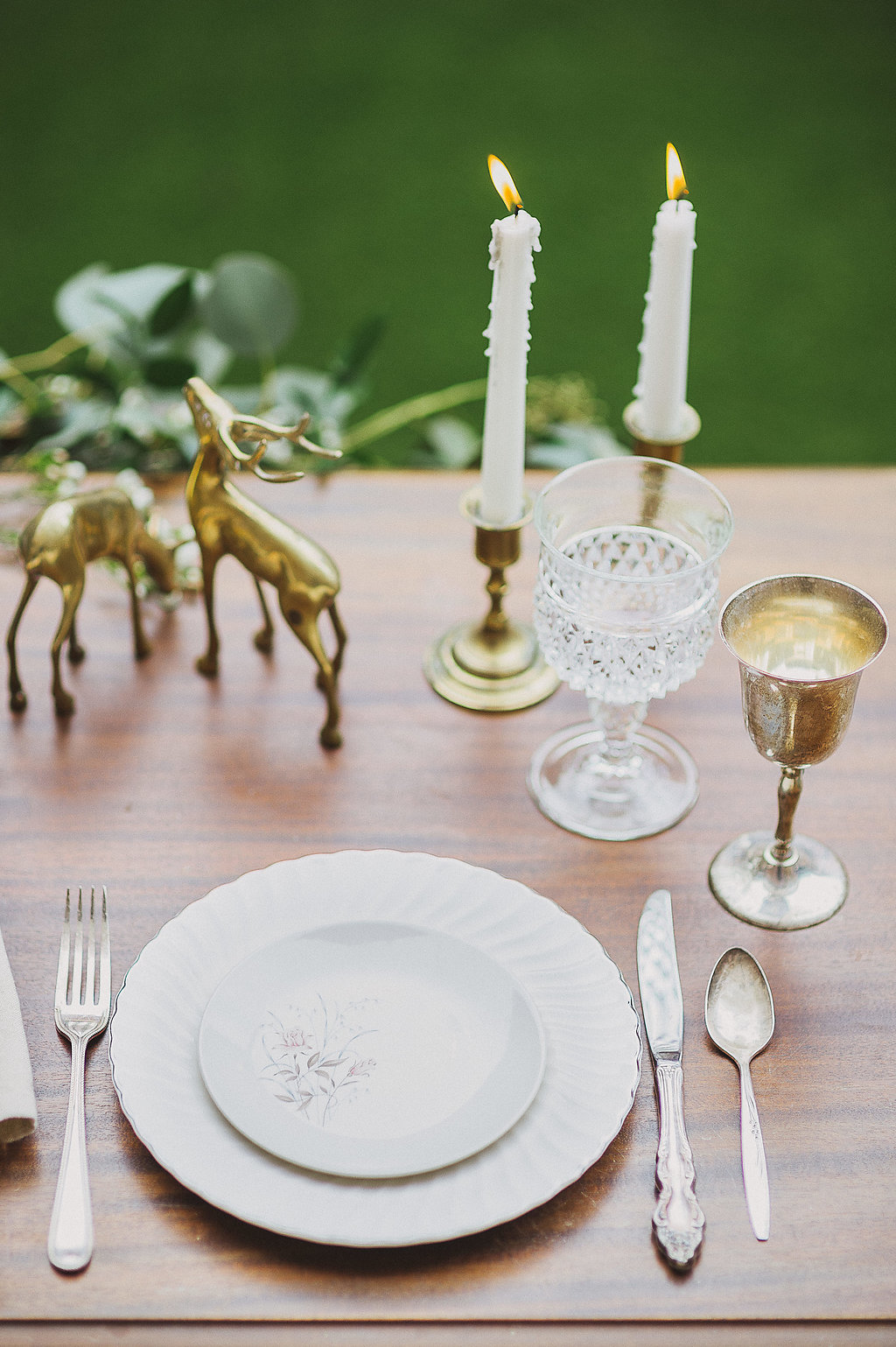 Vintage Dinnerware and Goblets