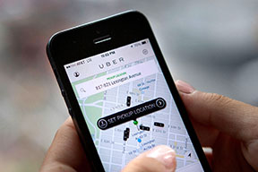 Traffic violations for Uber drivers can be costly.