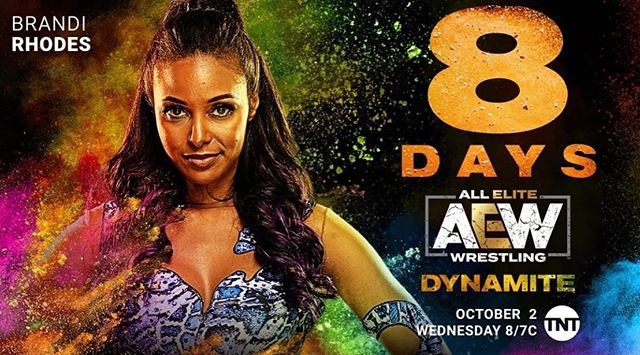8 MORE DAYS!!!!! Heading to LA today for more media!! Who else can't wait for AEW DYNAMITE???????