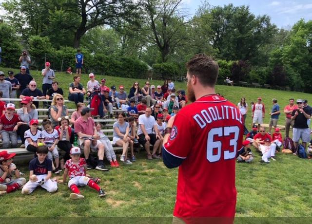 Reading Is Fundamental: Nationals Closer Sean Doolittle's Local Bookstore Quest