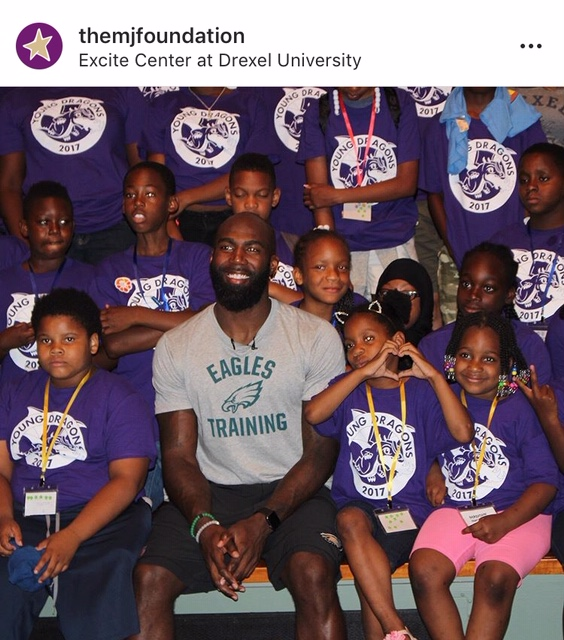 Photo: The Malcolm Jenkins Foundation