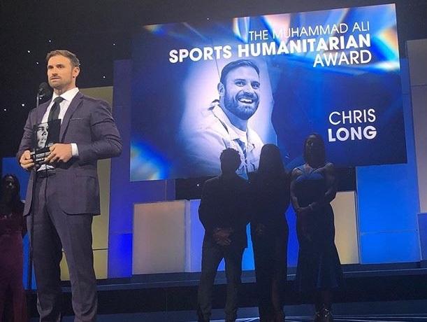 Chris Long Earns ESPN 2019 Muhammad Ali Sports Humanitarian Award