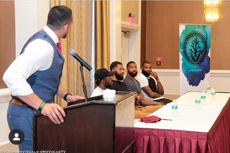 Marcus and Markieff Morris Host Men's Summit in Philadelphia