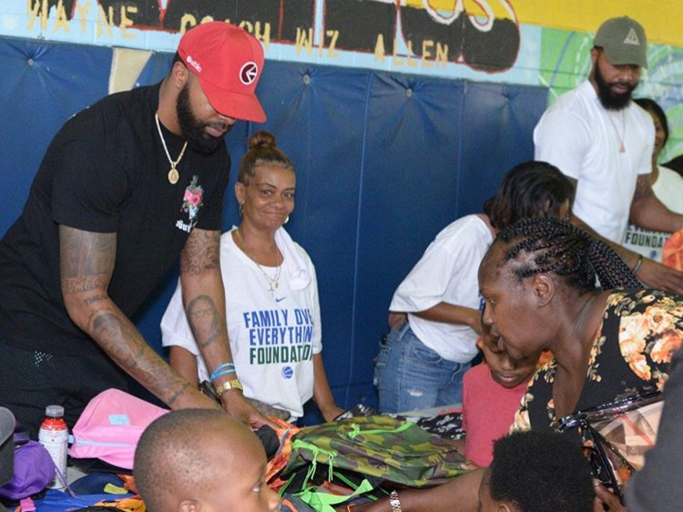 Marcus and Markieff Morris Host Fifth Annual Backpack Giveaway in North Philadelphia