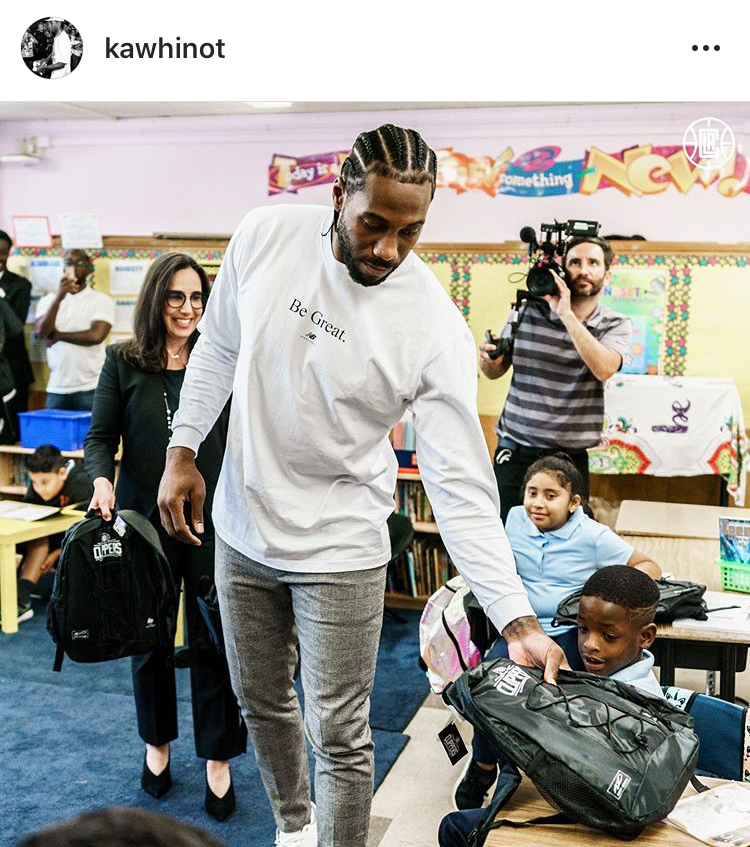 Photo: Kawhi Leonard/Los Angeles Clippers